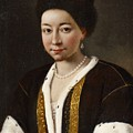 Portrait Of A Russian Lady by Pietro Antonio