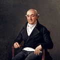 Portrait Of Cooper Penrose by Louis David