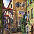 Prague Old Street by Yuriy  Shevchuk