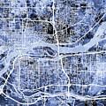 Quad Cities Street Map by Michael Tompsett