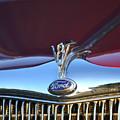 Red Ford Hotrod by Dean Ferreira