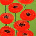 Red Poppies by Irina Afonskaya