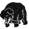 Republican Elephant, 1874 by Granger