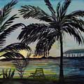 Roatan Sunset by Donna Walsh