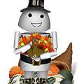 Robo-x9 The Pilgrim by Gravityx9 Designs