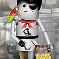 Robo-x9 The Pirate by Gravityx9  Designs