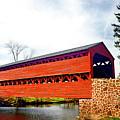 Sachs Bridge - Gettysburg by Paul W Faust - Impressions of Light