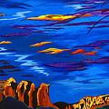 Sailing Sedonas Sky by Clark Sheppard