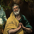 Saint Peter In Tears by El Greco