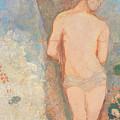 Saint Sebastian by Odilon Redon