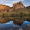 Salt River Reflections by Dave Dilli