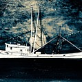Salty Shrimp Boat by Barry Knauff