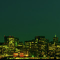 San Francisco Nighttime Skyline by Mountain Dreams