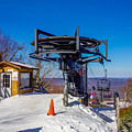 Scenery Around Timberline Ski Resort West Virginia by Alex Grichenko