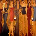 Seven Sisters Of Pleiades by Helen Gerro
