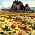 Shiprock by Donald Maier