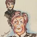 Sir Paul Mccartney by Geraldine Myszenski