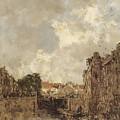 Sluisje by Johan Hendrik
