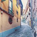 small street in Porto, Portugal  by Ariadna De Raadt
