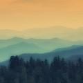 Smoky Mountain Sunrise by John Prickett