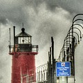 South Haven Lighthouse by Patti Pappas