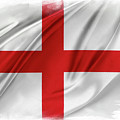 St George's Cross by Les Cunliffe