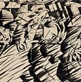 States Of Mind Those Who Go by Umberto Boccioni