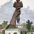 Statue Of Liberty, 1876 by Granger