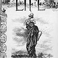 Statue Of Liberty Cartoon by Granger