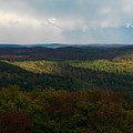 Storm Clouds Over Fall Nature Scenery by Oleksiy Maksymenko