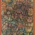 Strange Garden by Paul Klee