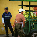 Street Vendor - Antigua Guatemala by Totto Ponce