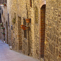 Streets Of San Gimignano by Andre Goncalves