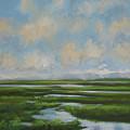 Summer Marsh by Guy Crittenden