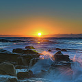 Sunrise And The Sea by Merrillie Redden