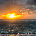 Sunrise At Kapaa - Kauai by Yefim Bam