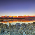 Sunrise At Mono Lake by Javier Flores