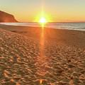 Sunrise Beach Seascape by Merrillie Redden