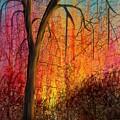Sunset  by Kathleen Hromada