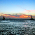 Sunset Key West  by Davids Digits