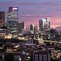 Sunset Over Jakarta Skyline by Didier Marti