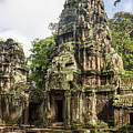 Ta Prohm Temple In Angkor, Siem Reap In Cambodia by Didier Marti
