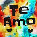 Te Amo by Ivan Guaderrama