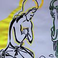 Temptation Of Jesus by Gloria Ssali