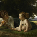 Temptation by William-Adolphe Bouguereau