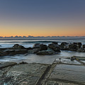 Tessellated Rock Platform And Seascape by Merrillie Redden