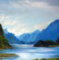 Thai Landscape by Chonkhet Phanwichien