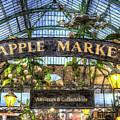 The Apple Market Covent Garden London Art by David Pyatt