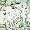 The Bathers by Paul Cezanne
