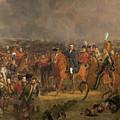 The Battle Of Waterloo by Jan Willem Pieneman